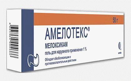 Амелотекс 1% 30,0 гель - цена 153 руб., купить в интернет аптеке в Перми Амелотекс 1% 30,0 гель, инструкция по применению, отзывы