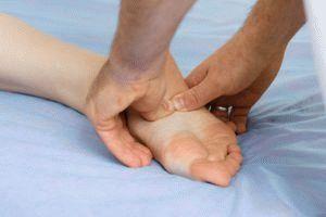 Массаж шишек на большом пальце ноги как проводится