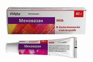 Меновазин при остеохондрозе поясничного отдела
