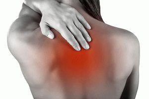 Боль и жжение в спине между лопатками