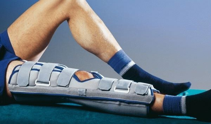 Как надеть тутор на коленный сустав