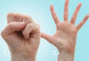 Массаж пальцев рук при артрите