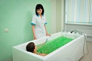 Горячие ванны при артрите